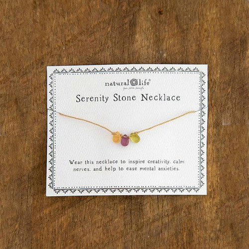 Creativity Serenity Stone Necklace