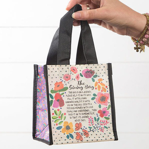 The Giving Bag - Small Recycled Bag