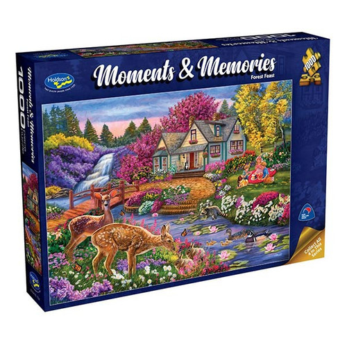 1000pc Jigsaw: Moments & Memories, Forest Feast