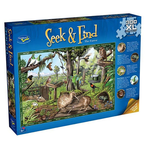300XL Piece Jigsaw: Seek & Find, The Forest