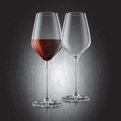 Bordeaux Lead-Free Crystal Glasses - Set of 2