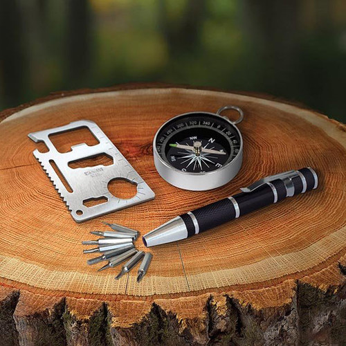 Book of Essentials - Multi Tool & Compass Set