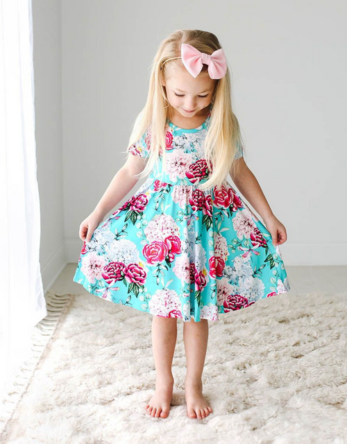 ELOISE SS TWIRL DRESS
