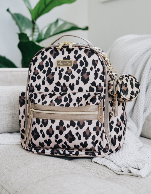 MINI DIAPER BAG LEOPARD