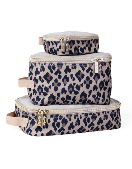 PACKING CUBES LEOPARD