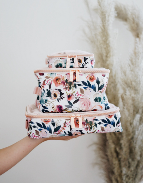 PACKING CUBES BLUSH FLORAL