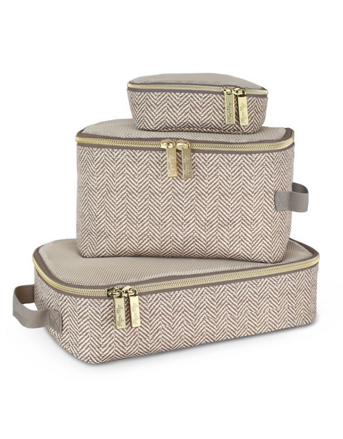 PACKING CUBES TAUPE