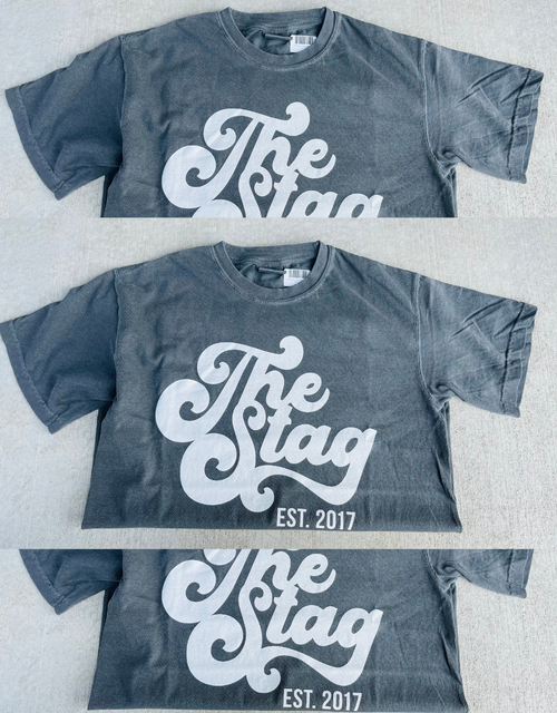 RETRO STAG CHARCOAL