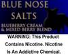 Blue Nose - Salt Nicotine 30ml