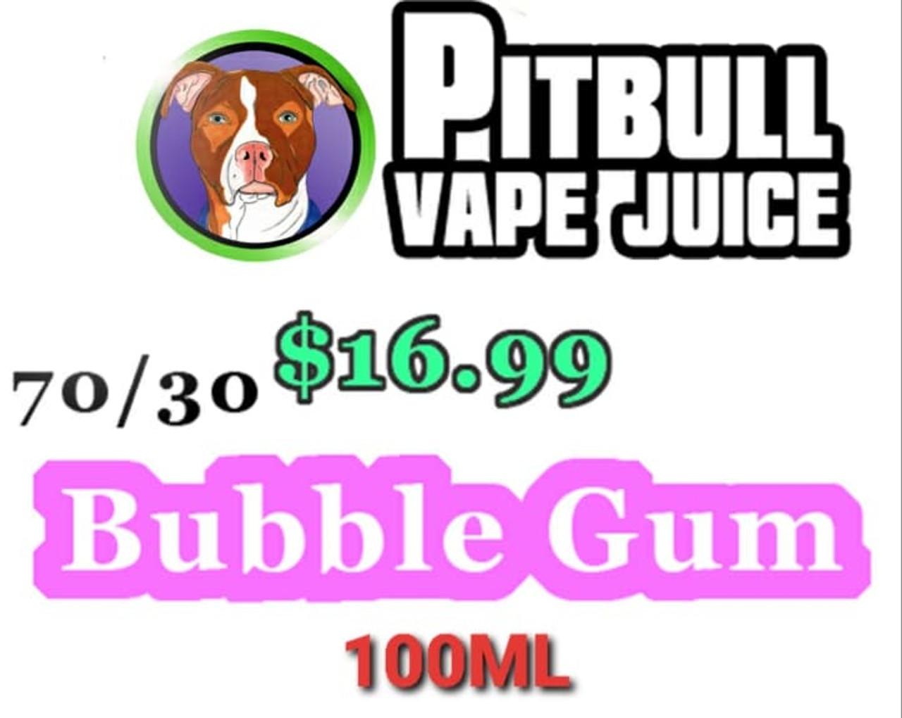 $16.99-Bubble Gum- 100ml