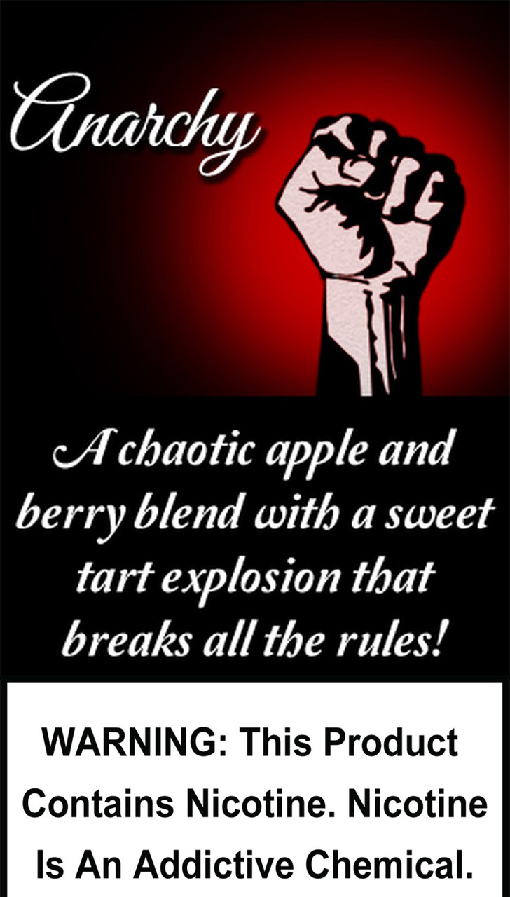 A chaotic apple and berry blend with a sweet tart explosion that breaks all the rules!