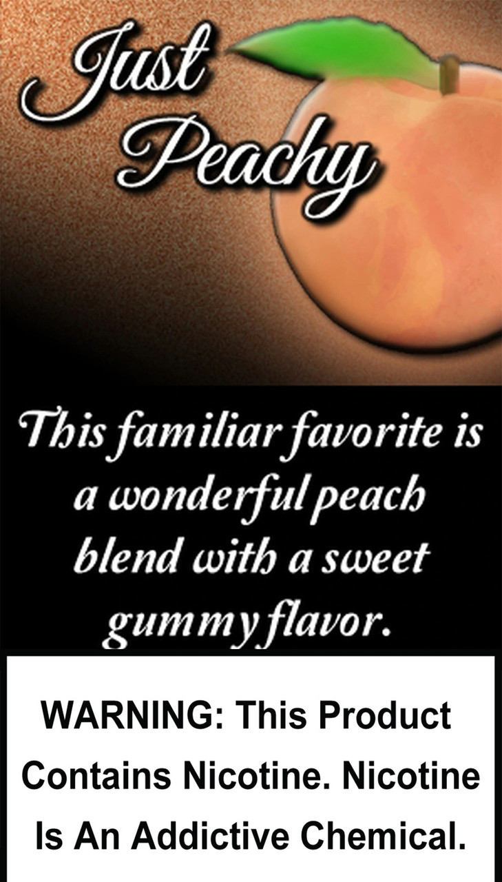 This familiar favorite is a wonderful peach blend with a sweet gummy flavor.