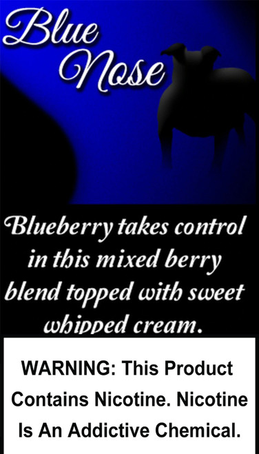 Blueberry takes control in this mixed berry blend topped with sweet whipped cream.