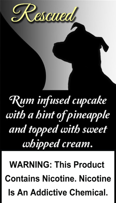 Rum infused cupcake with a hint of pineapple and topped with sweet whipped cream.