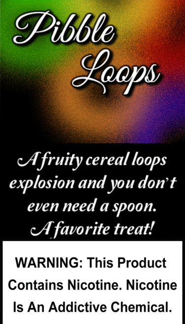 A fruity cereal loops explosion and you don't even need a spoon. A favorite treat!