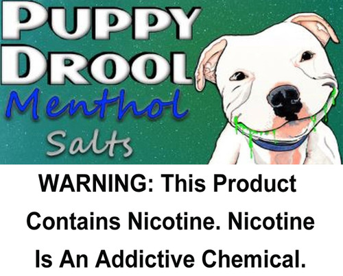 Puppy Drool Menthol - Salt Nicotine 30ml