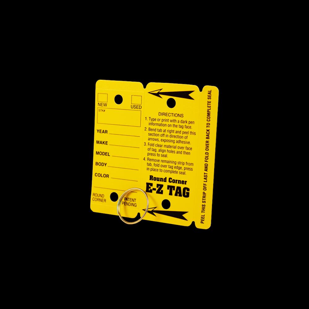eZ Self-Protecting Waterproof Key Tags (100 Count)