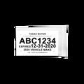 Motorcycle Waterproof & Tearproof Value eTAG Bundle (100 Count)
