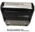 Reassignment Stamp