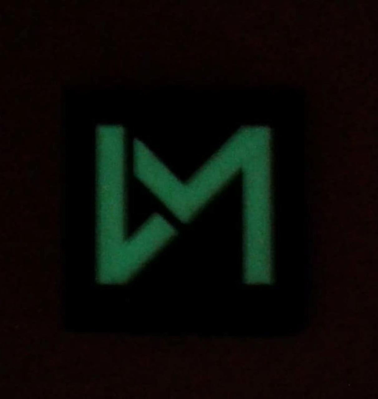 """DM Logo GITD """"Ranger Eye"""" Patch"""