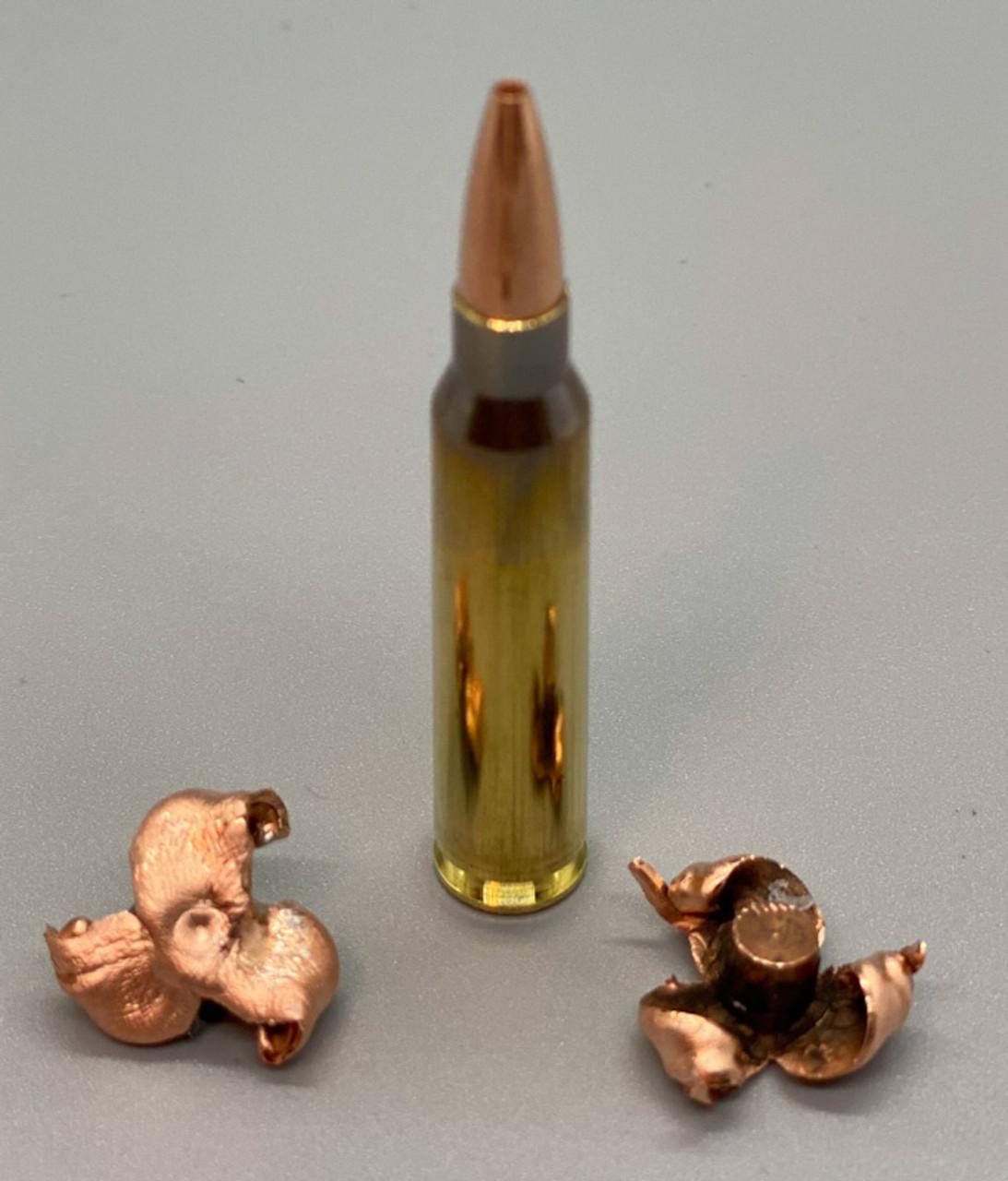 .223 55gr TCX (Total Copper X-panding) Defensive Ammunition
