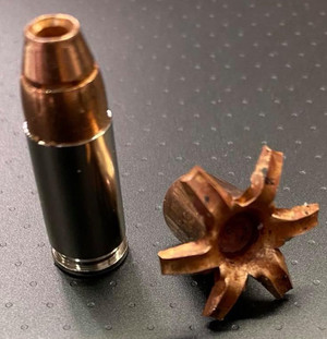 9mm Luger 135 gr TCX-S (Total Copper X-panding SUBSONIC) Solid Copper Defensive Ammunition