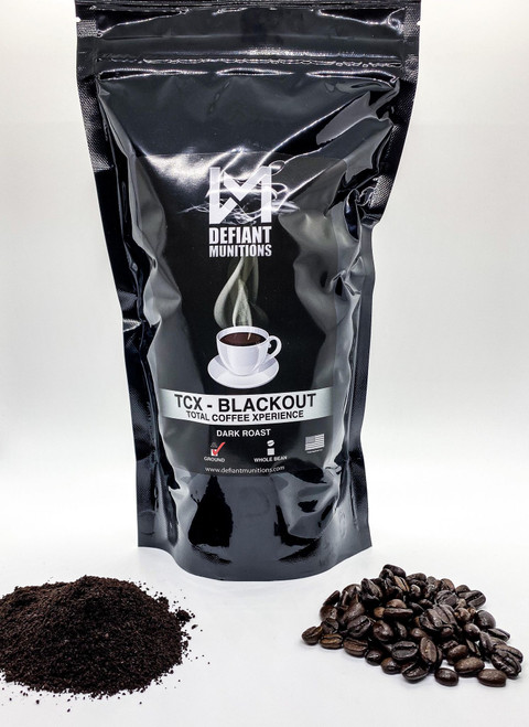 Available in Whole Bean, or Ground