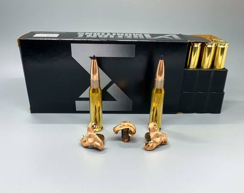 308 WIN 168gr TCX (Total Copper X-panding) Solid Copper Defensive Ammunition