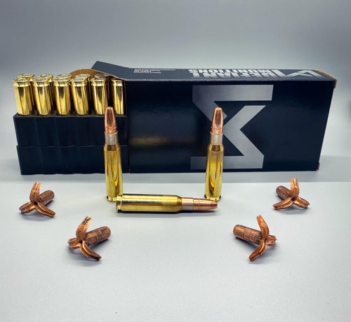 308 WIN 180gr TCX-S (Total Copper X-panding) Subsonic Solid Copper Defensive Ammunition