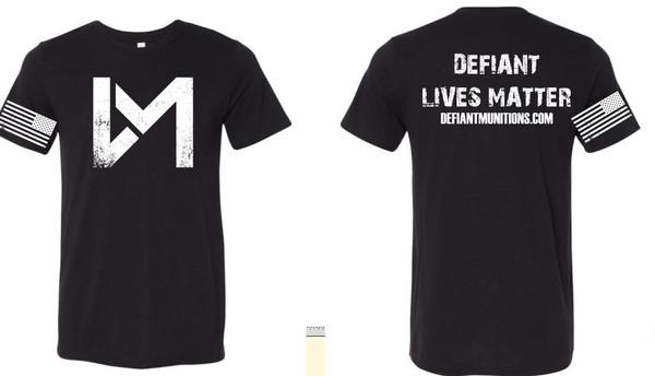 Defiant LivesT-shirt, Black