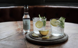 Cucumber & Mint - Hendricks Gin with Ribbons of Cucumber