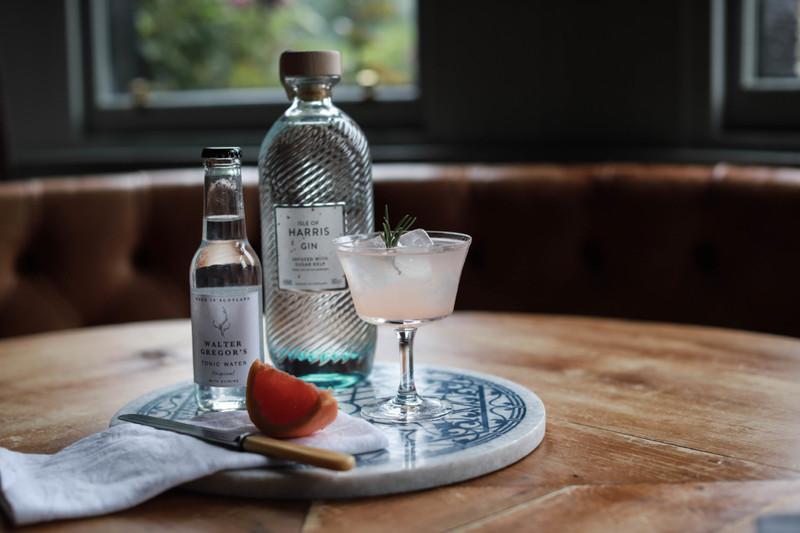 Original - Isle of Harris Gin with Fresh Grapefruit Juice