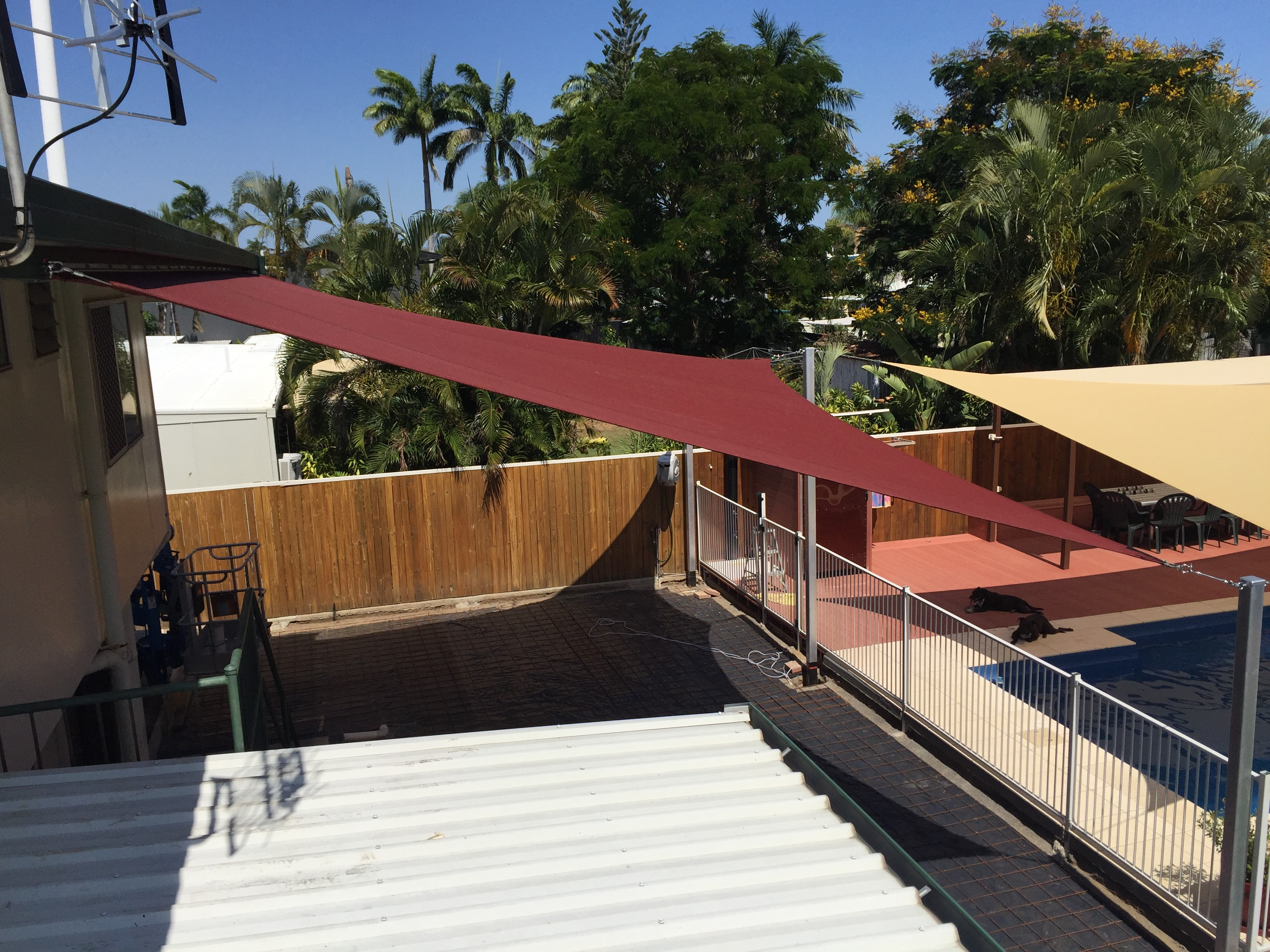 Custom Products Shade Sails Structures Beehive Vinyl