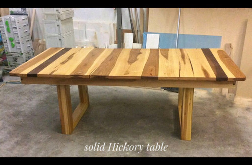Dining Table in Solid Hickory