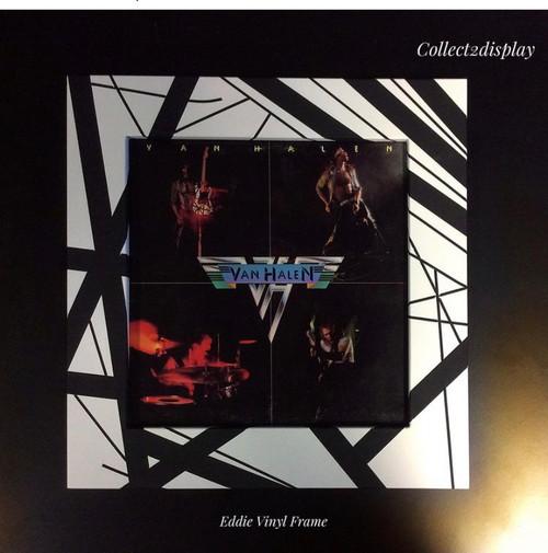 Van Halen inspired vinyl LP Toploader Frame