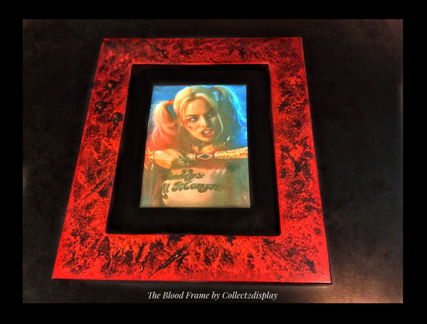 "11 x 17 Frame in ""Blood Attack"" Finish"