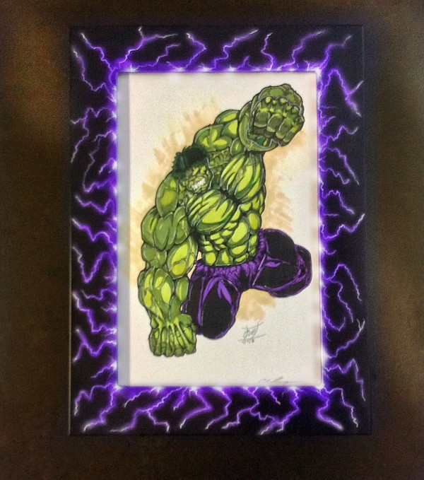 "8x10 Toploading "" Lightning"" Finish"