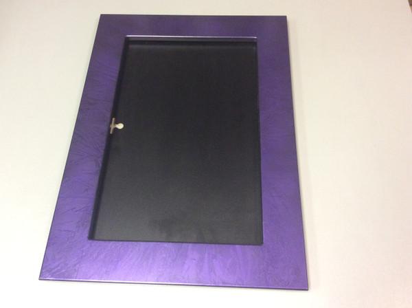 Marbleized purple
