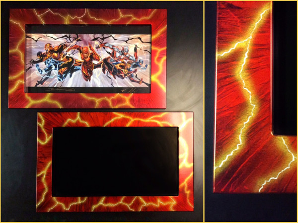 "11x17 Toploading frame ""Lightning"" Finish"