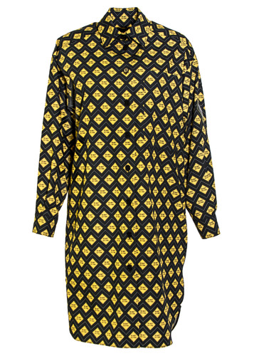 """Limited Edition Oversized Shirt With Pattern """"Do Not Disturb"""" 