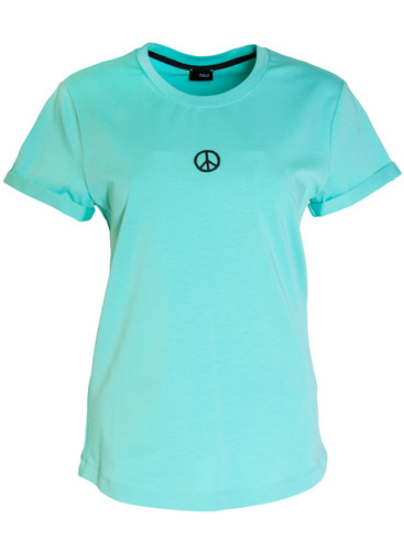 Tiffany Regular Fit T-Shirt With  Print | Peace