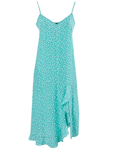Tiffany Polka Dot Viscose Slip Dress | Sete