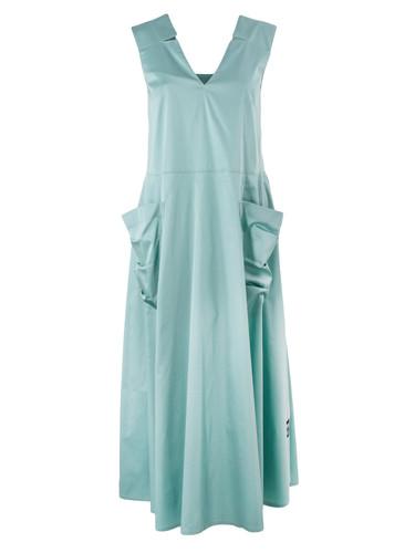 Mint Midi Sundress With Front Pockets  | Everita