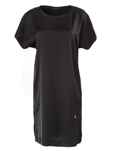 Black Vegan Silk Nightdress    Smith