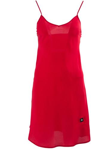 Red Silk Slip Nightdress    Benedict