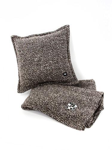 Textured Wool Blanket 142x185cm| Acme