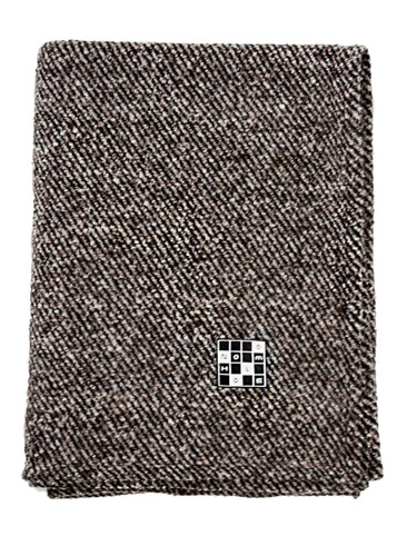 Textured Wool Blanket 142x185cm   Archer