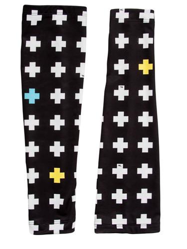Crosses  Print Elastic Arm | Flight Sleeves