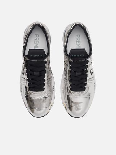 Premiata  Laminated Silver Leather    Conny