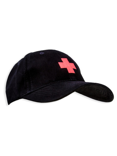 Cap With Cross Embroidery | Meda